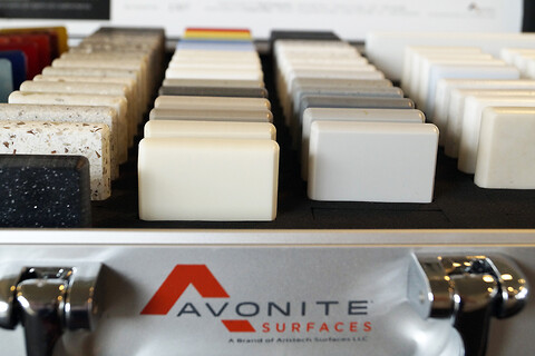 Avonite Surfaces® , solid surface plader fra Keflico A/S - www.keflico.com - Avonite Surfaces, solid surface, Keflico