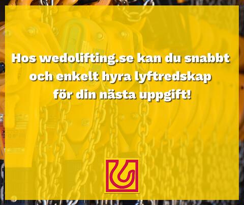Uthyrning - wedolifting.se