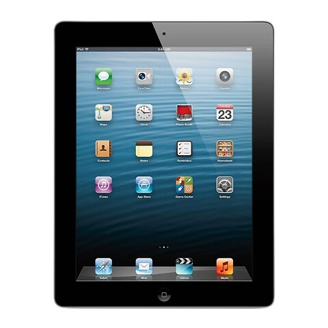 Apple iPad 4 32GB WiFi + Cellular (Sort) - Grade C - tablet