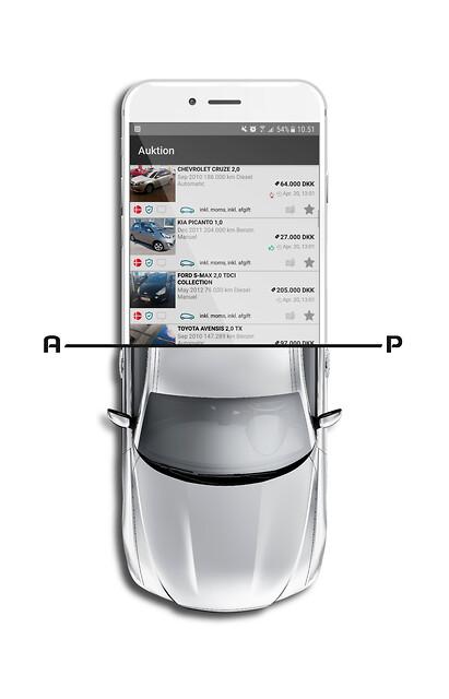 Stort udbud af attraktive brugte biler på AUTOproff