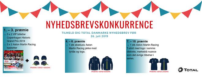 TOTAL Danmark, smøremidler, motorsport, konkurrence