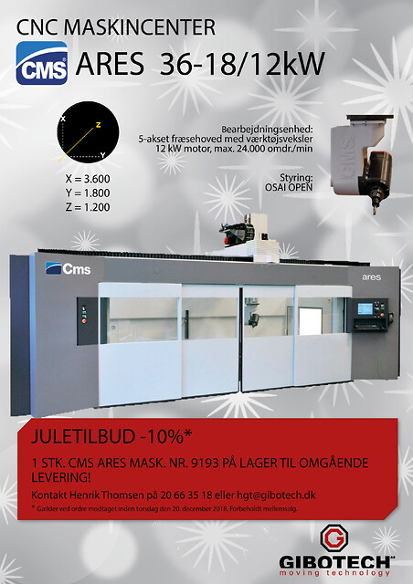 CMS Ares 36-18/12 kW 2018