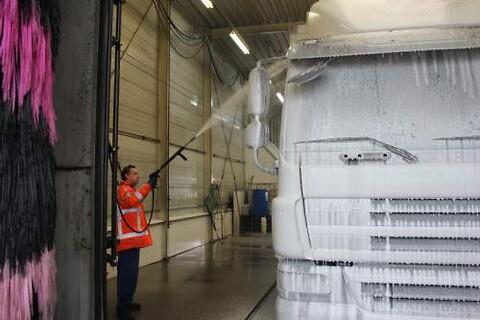 Stort udvalg af rengøringsmidler til vognmænd og transportbranchen.
