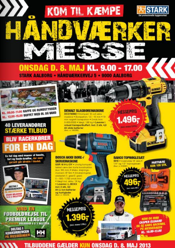 Håndværkermesse i STARK Aalborg onsdag den 8. maj - Building Supply DK
