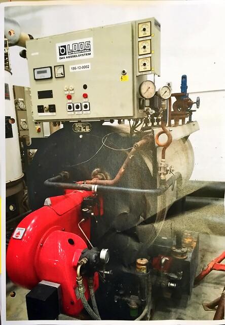 Dampgenerator 1000 kg/h x 13 bar fra Chr. Møller A/S's Brugtbørs