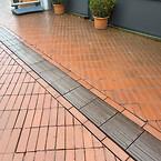 Grønne bæredygtige ledelinjer i Kolding kommune lavet i VIRIDI cement