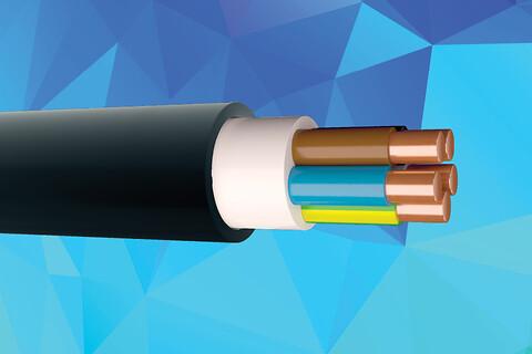XPUJ - 90°C sort installationskabel - Prysmian_XPUJ-HF_500+750V-Dca