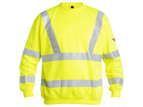 Sweatshirt SAFETY HIGHVIS GUL - STR. L