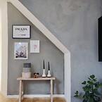Microcement til væg - alternativ til maling