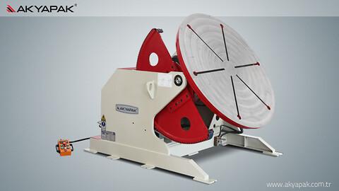 Nye svejserundborde type SRP fra Akyapak sælges