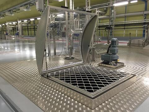 Aluminiumskuppel fra Nordic Steel Solutions