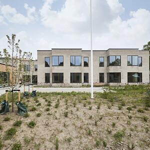 Fribo Holte, plejehjemsbyggeri i Skovly Vænge. Projektet er udført i Totalentreprise af JFP.