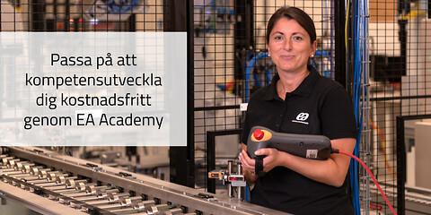 EA Academy | Industriteknik för operatörer - KOSTNADSFRI