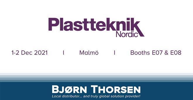 Bjørn Thorsen udstiller på Plastteknik