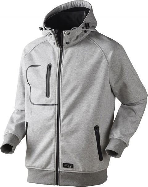 Softshell jakke, 6161 - grå melange