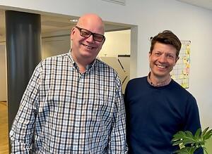 Jan Broman och Gösta Hiller.