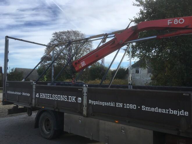 Underleverandør i stål og montage - Smede og maskinværksted H. Nielssons smede og maskinfabrik AS