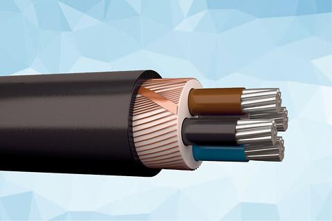 AXQJ-AL PURE 1 kV halogenfrit installationskabel