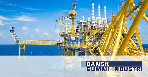 Gummi og polyurethan løsninger til offshore - Gummi og polyurethan til offshore Dansk Gummi Industri