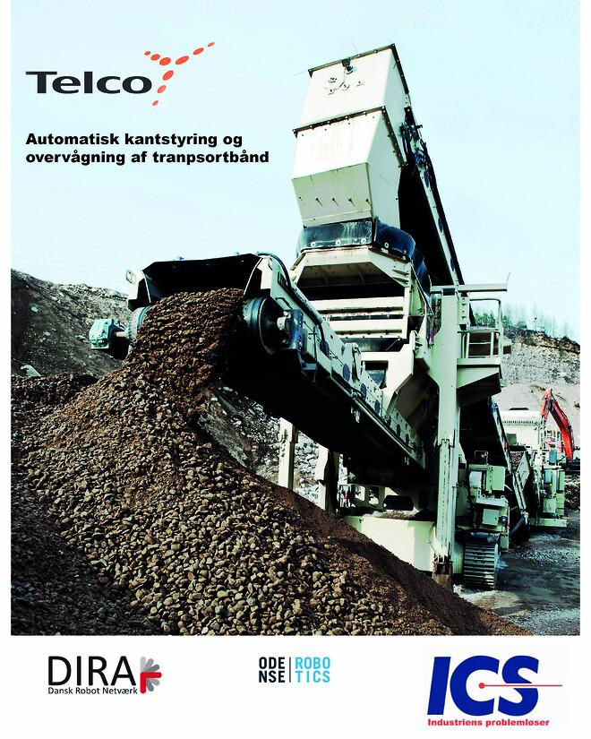 telco ics fotocelle transportbånd kantstyring sikkerhed
