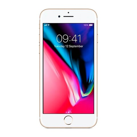 Apple iphone 8 256GB (guld) - grade b - mobiltelefon