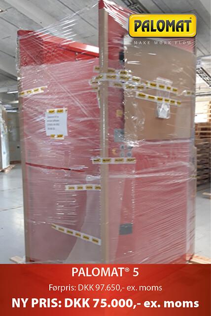 UDSALG: PALOMAT® 5 til stabling og nedstabling af 1-5 paller