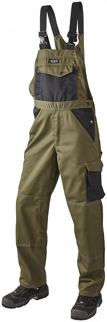 Arbejds overall, 9207 - army/sort
