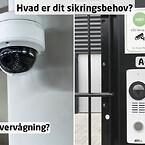 Videoovervågning eller adgangskontrol?