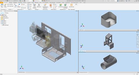 Autodesk Inventor Sheet Metal  - Autodesk Inventor Sheet Metal kursus hos Invent A/S