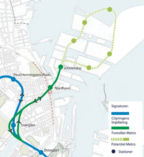 Nordhavns metro koster 2,3 milliarder Building Supply DK
