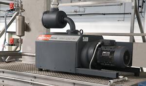 MINK klovakuumpump för avgasning av brunnsvattnet i avgasningstanken