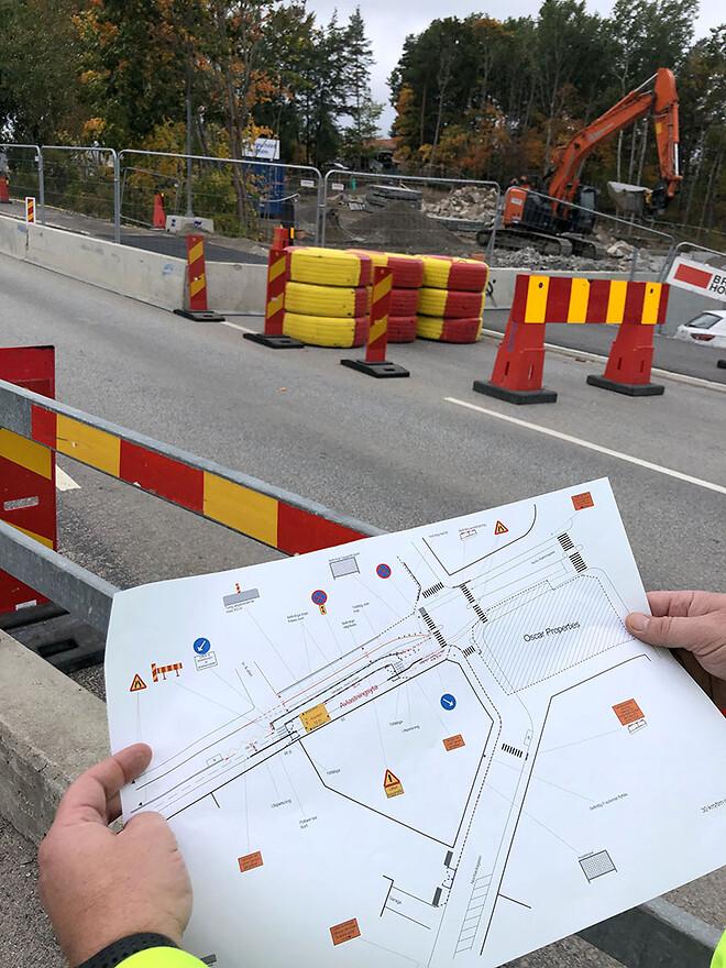 TA-plan; trafikanordningsplan; saferoad