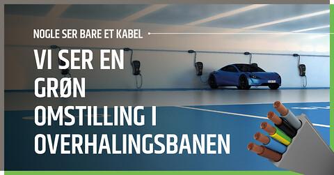 Kabelinfrastruktur til parkeringsanlæg