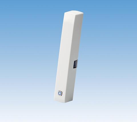 """COMFORT IP vindues-/dørkontakt - Vindues-/dørkontakt i COMFORT IP-serien, 230V.  Vindues-/dørkontakten fungerer som et smart tilbehør til access pointet; de to enheder kan """"snakke"""" sammen,  Via access pointet kommunikerer vindues-/dørkontakten med gulvvarmesystemet og/eller radiatortermostaten i COMFORT IP-serien. Når kontakten registrerer, at et vindue eller en dør åbnes, skrues der ned for gulvvarmen eller radiatoren. Når der igen lukkes for vinduet eller døren, skrues der automatisk op igen for varmen."""