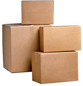 Store og små papkasser