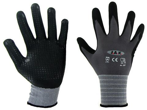 2108 flex dot handske 12 par i et bundt