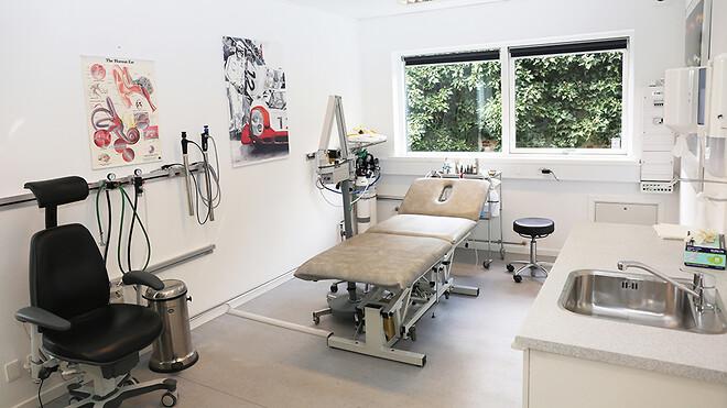 I Vanløse har en øre-, næse- og halslæge ligeledes brugt Ajos pavilloner til at bygge sin nye klinik.