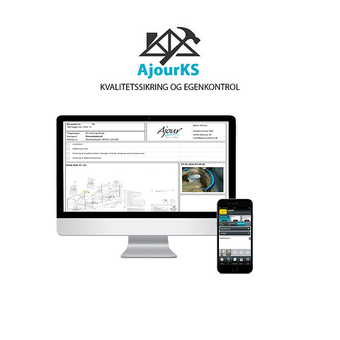 AjourKS - mobil kvalitetssikring med fotodokumentation