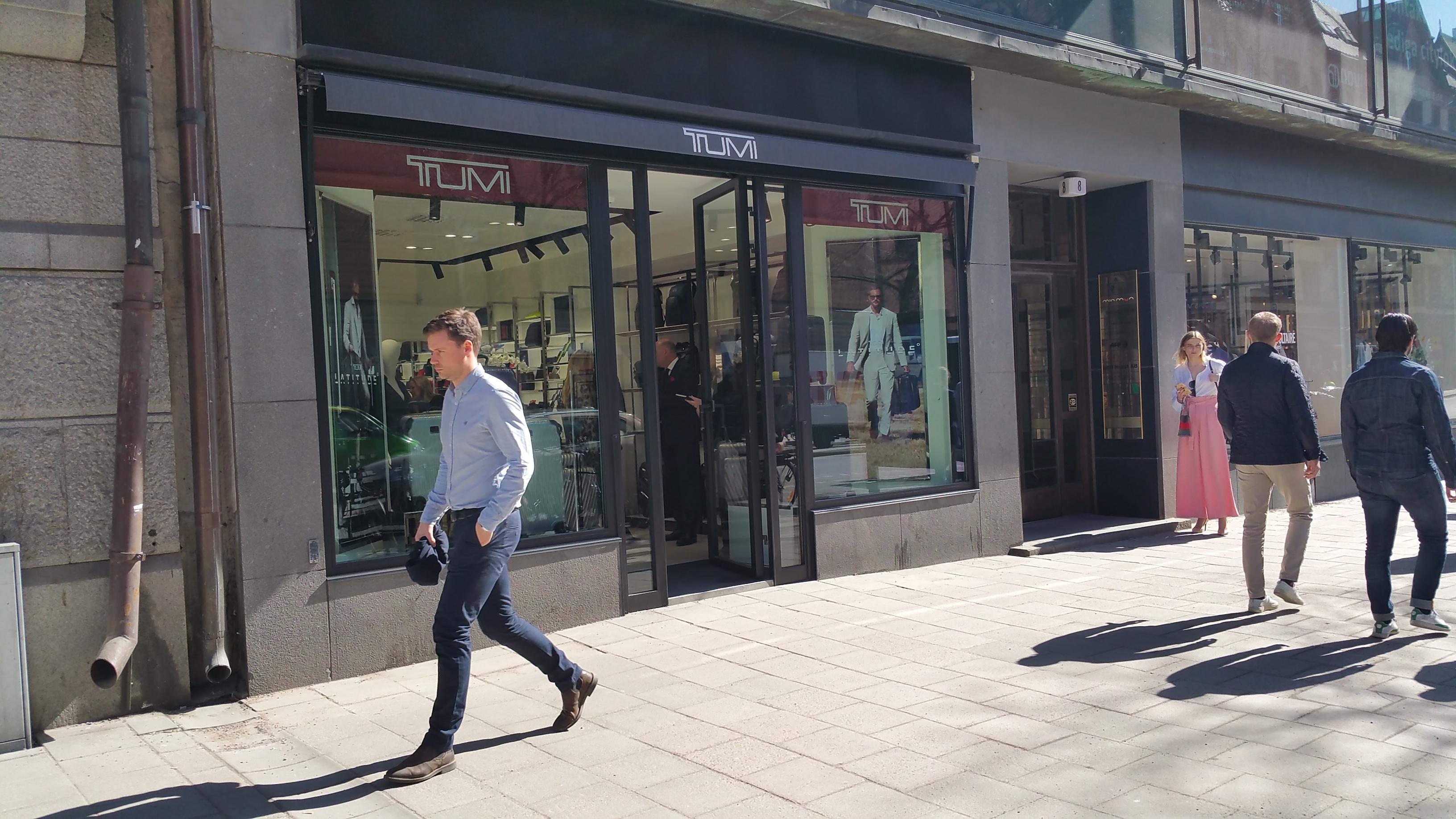samsonite butik stockholm