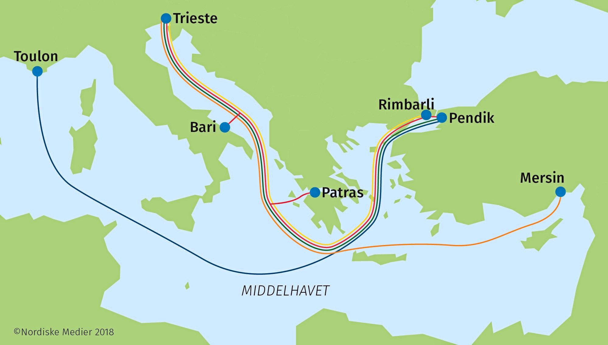 Stort Vaekstpotentiale For Dfds I Middelhavet Sofart
