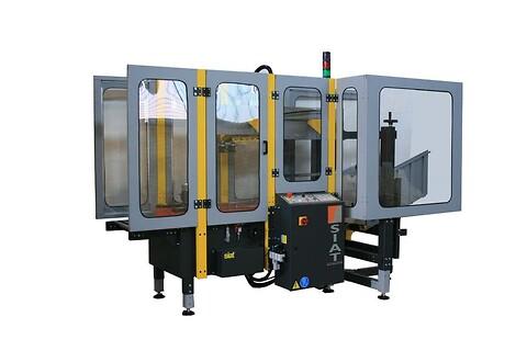 Siat - Kartonrejser, In-line, SIAT F44, Kartonrejsning, fuldautomatisk pakkemaskine