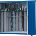 Container til gasflasker