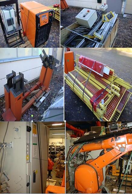 ABB Svetsrobot IRB2400
