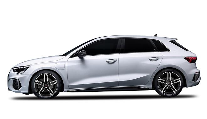 Audi A3 monteret med nyheden Borbet ATX Alufælg