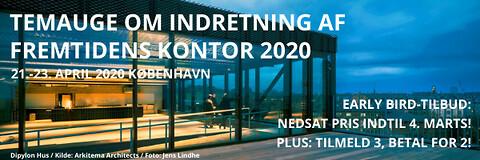 Konference om indretning af fremtidens kontor - Konference om indretning af fremtidens kontor - Nohrcon - kontorbyggeri - kontorkonference
