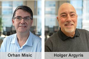 Orhan Misic och Holger Argyris är nya säljare på DISAB.