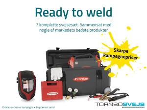 Ready to weld-sæt fra TornboSvejs