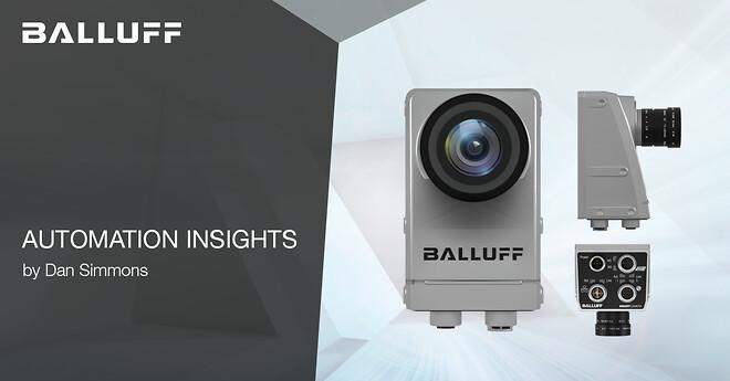 Vision, Kamera, Visionkamera, automation, Balluff