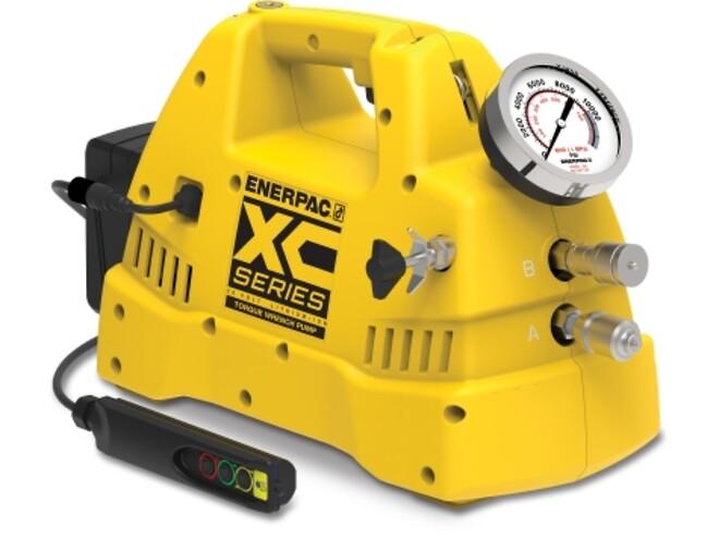 batteri torque pumpe, hydraulisk torque pumpe, Enerpac