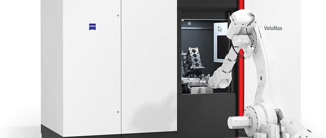 Industriel måleteknik fra zeiss og x-ray, automation